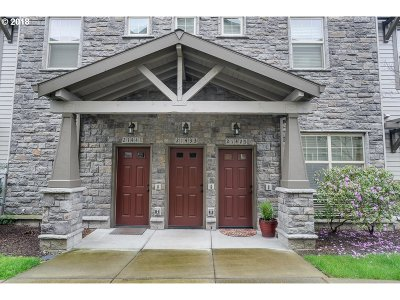 Hillsboro Condo/Townhouse For Sale: 21425 NW Rockne Way