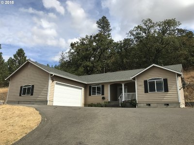Roseburg OR Single Family Home For Sale: $229,900