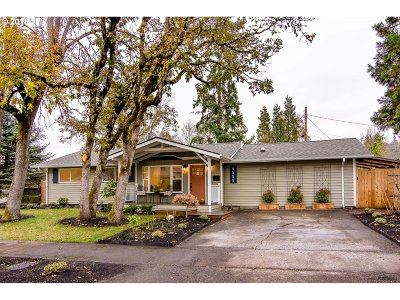 Eugene Single Family Home For Sale: 4555 High St