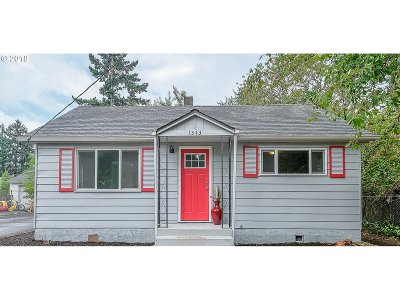 Single Family Home For Sale: 1343 SE 115th Ave