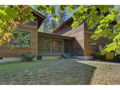 Washougal Single Family Home For Sale: 17032 Washougal River Rd