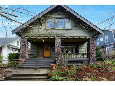 Portland Single Family Home For Sale: 5816 N Moore Ave