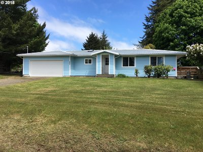 Coos Bay Single Family Home For Sale: 63345 Isthmus Hts Rd
