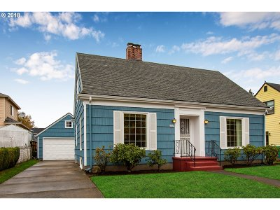 Single Family Home For Sale: 6819 N Olin Ave