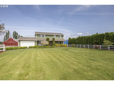 Woodburn Single Family Home Sold: 32766 S Meridian Rd