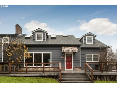Portland Single Family Home For Sale: 2607 NW Overton St