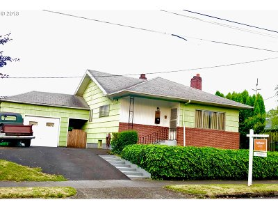 Portland Single Family Home For Sale: 8918 N Fortune Ave