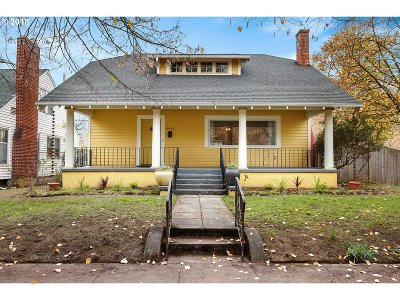 Portland Single Family Home For Sale: 6404 N Commercial Ave