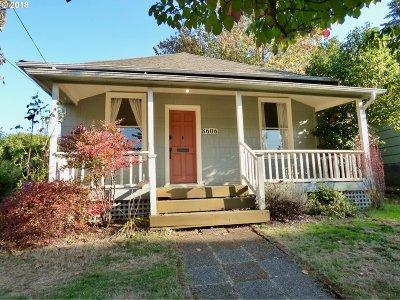 Portland Single Family Home For Sale: 8606 N Gloucester Ave