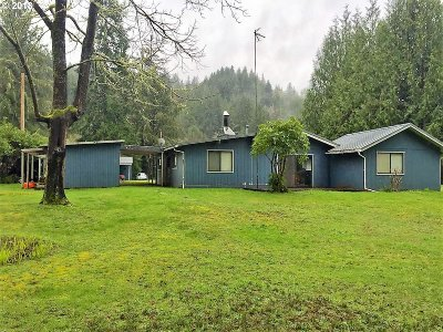 Mapleton Single Family Home For Sale: 8455 Duncan Island Rd