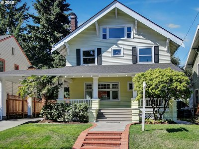 Portland Single Family Home For Sale: 2609 NE 22nd Ave