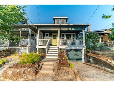 Single Family Home For Sale: 7222 N Mississippi Ave
