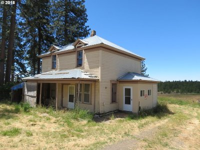 Umatilla County Single Family Home For Sale: 55916 Hwy 204