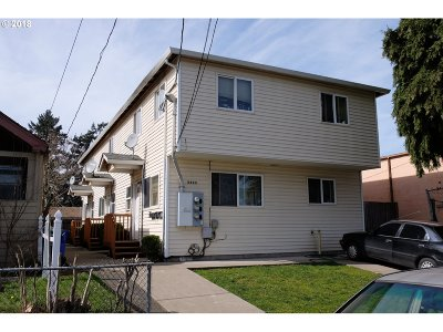 Portland OR Multi Family Home For Sale: $525,000