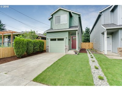 Portland Single Family Home For Sale: 9319 N Adriatic Ave