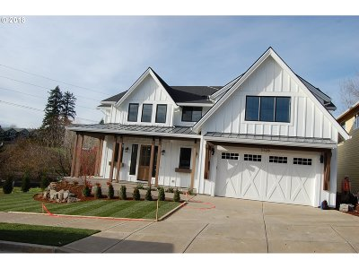 West Linn Single Family Home For Sale: 3126 Meadowlark Dr #Lot24