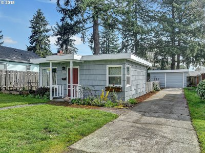 Portland Single Family Home For Sale: 8306 SE 62nd Ave