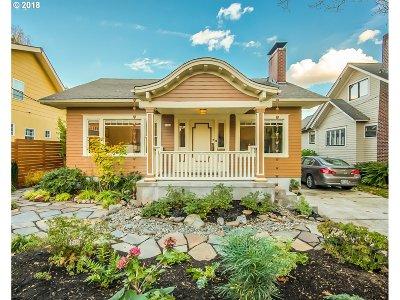 Portland Single Family Home For Sale: 3334 NE 17th Ave