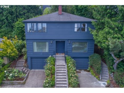 Single Family Home For Sale: 2760 NW Quimby St