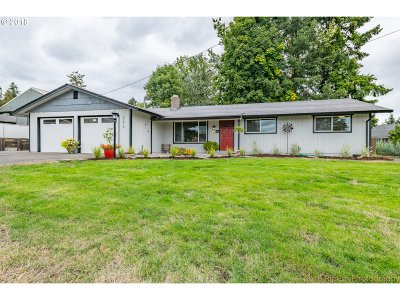 Scappoose Single Family Home For Sale: 33213 Wheeler St