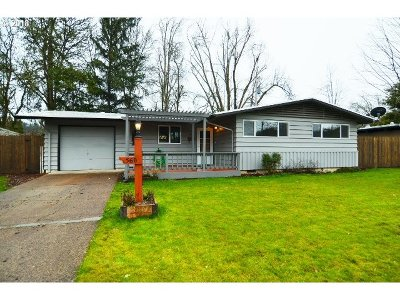 Eugene OR Single Family Home For Sale: $279,900