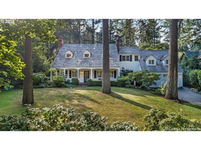 Lake Oswego Single Family Home For Sale: 310 Chandler Pl