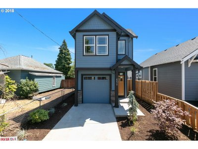 Single Family Home For Sale: 6438 SE 87th Ave