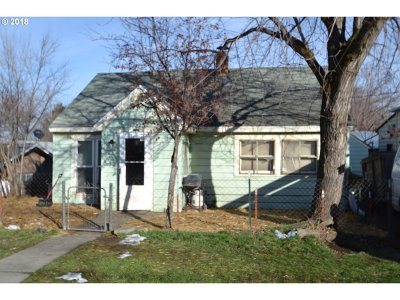 Pendleton Single Family Home For Sale: 708 SW 15th St
