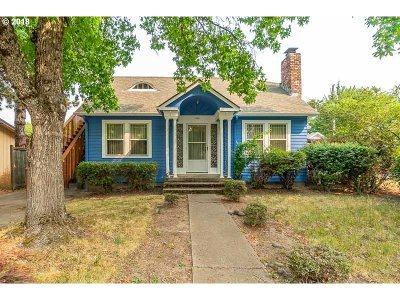 Eugene Single Family Home For Sale: 1855 W 10th Ave