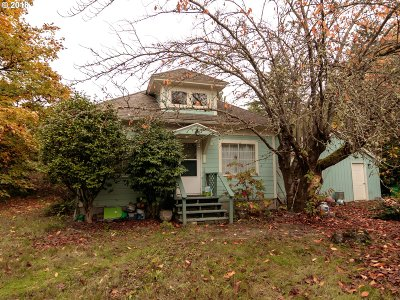 Portland Single Family Home For Sale: 5400 SW Shattuck Rd