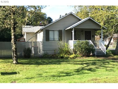 Cannon Beach Single Family Home For Sale: 596 N Larch St