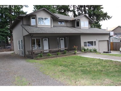 Single Family Home For Sale: 312 SE 126th Ave