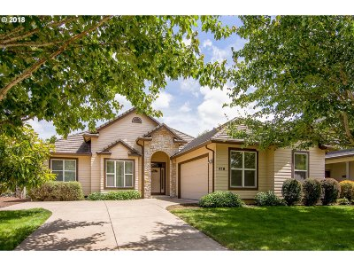 Cottage Grove, Creswell Single Family Home For Sale: 418 Pebble Beach Dr