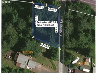 Springfield Residential Lots & Land For Sale: Collins Ln