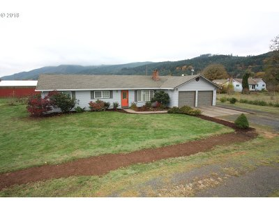 Single Family Home For Sale: 50930 NW Cox Rd