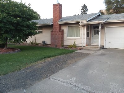Pendleton Single Family Home For Sale: 708 SW 37th St