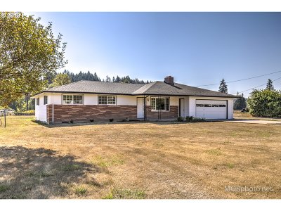 Vernonia Single Family Home For Sale: 60662 Nehalem Hwy