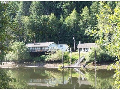 Mapleton Single Family Home Pending: 9959 Sweet Creek Rd