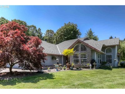 Salem Single Family Home For Sale: 3550 Brush College Rd NW