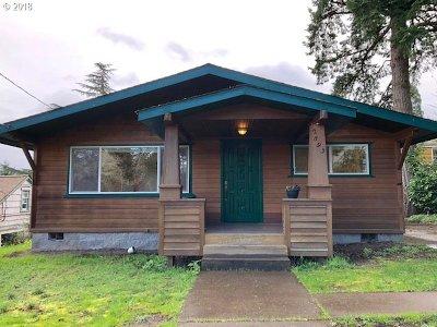 Eugene Single Family Home For Sale: 2893 Adams St
