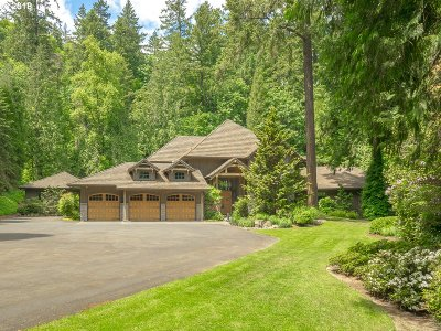 , Portland, West Linn, Lake Oswego Single Family Home For Sale: 01415 SW Radcliffe Ln