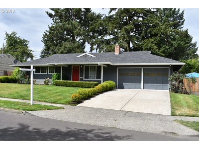 Single Family Home For Sale: 6955 SW Queen Ln