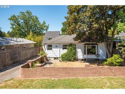 Portland Single Family Home For Sale: 1341 SW Carson St
