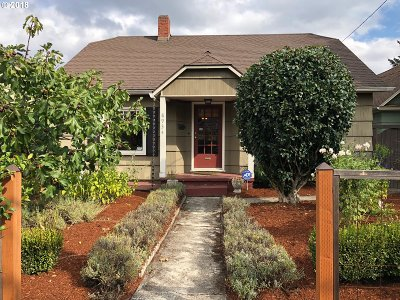 Clackamas County, Multnomah County, Washington County Single Family Home For Sale: 8934 N Portsmouth Ave