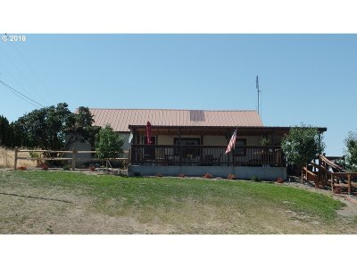 Umatilla County Single Family Home For Sale: 85576 Hwy 11