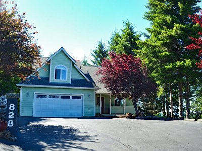 Brookings Single Family Home For Sale: 828 Old County Rd