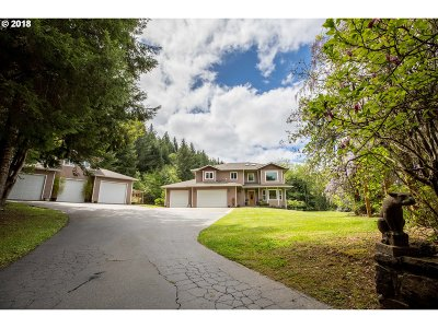 Coos Bay Single Family Home For Sale: 66341 Sunshine Rd