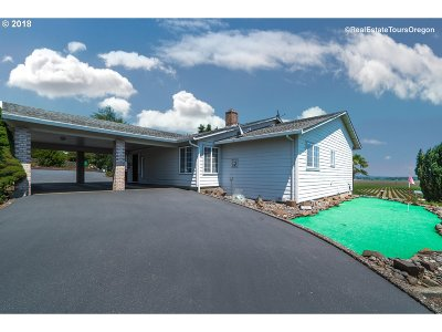 McMinnville Single Family Home For Sale: 3400 NW Hill Rd