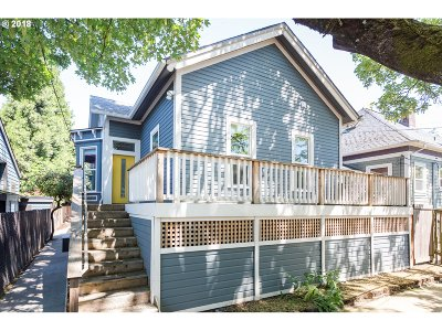 Single Family Home For Sale: 1121 SE Sherman St