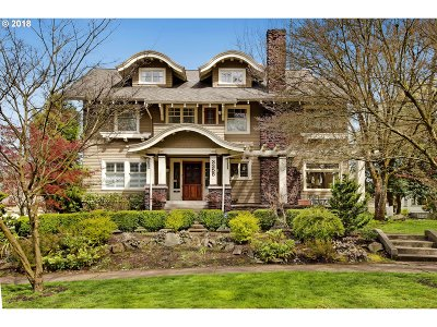 Single Family Home For Sale: 3355 NE Davis St
